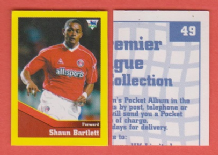 Charlton Athletic Shaun Bartlett South Africa 49 BTR